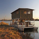 Houseboat on The Caprivi