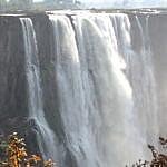 Victoria Falls (Zimbabwe) at Low Water